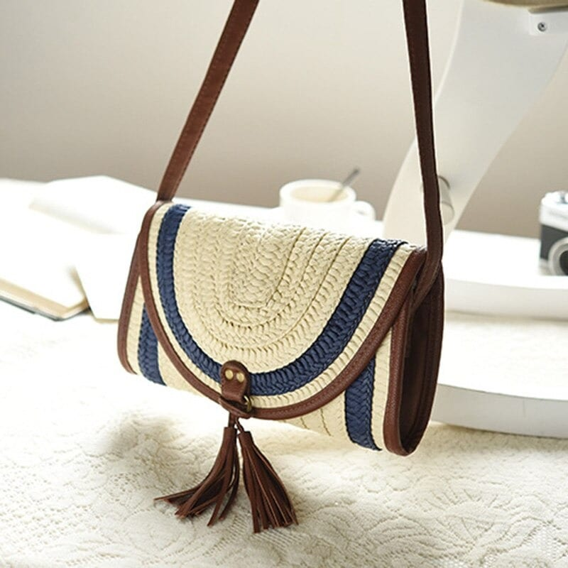What woven leather totes handmade suggest