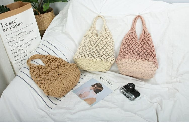 When rattan straw beach bags 2021