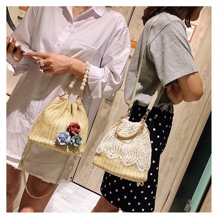 Straw bags for summers beach quality