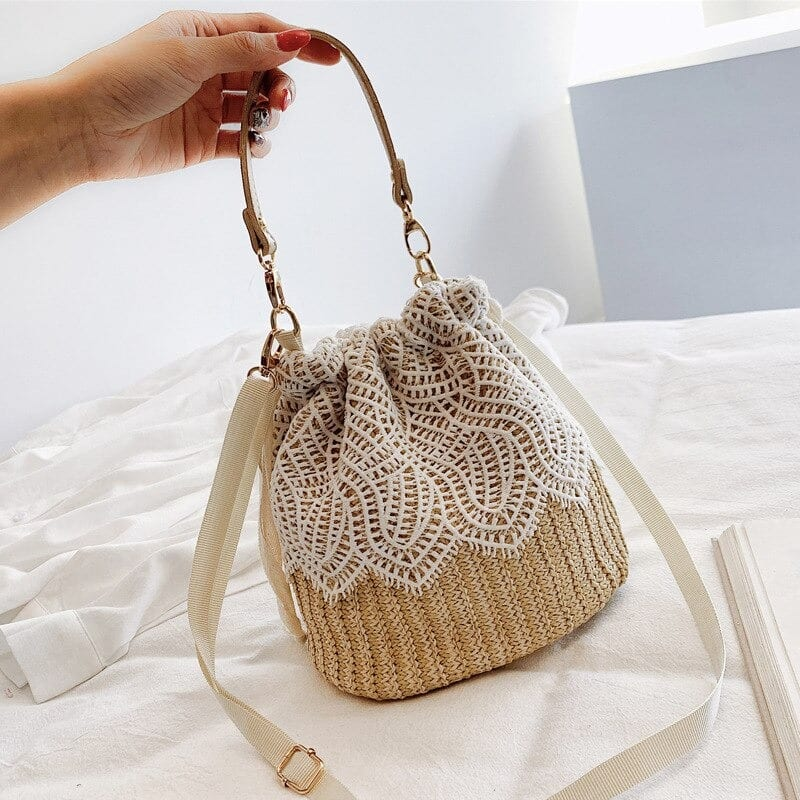 Which cute woven leather totes value