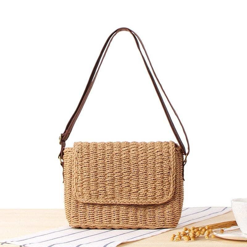 Which lined straw bags for summer