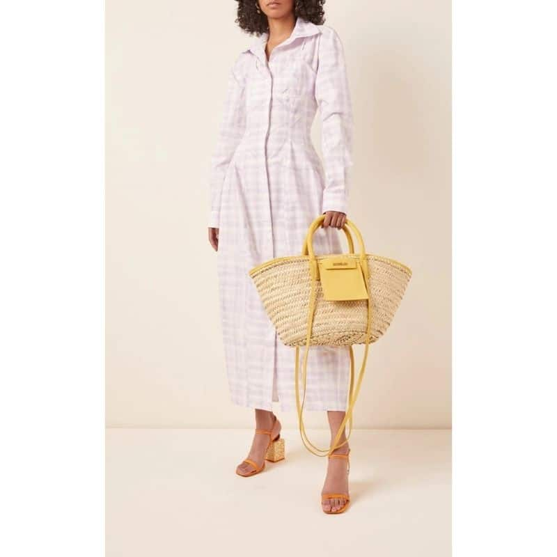 Which ladies rattan tote bags