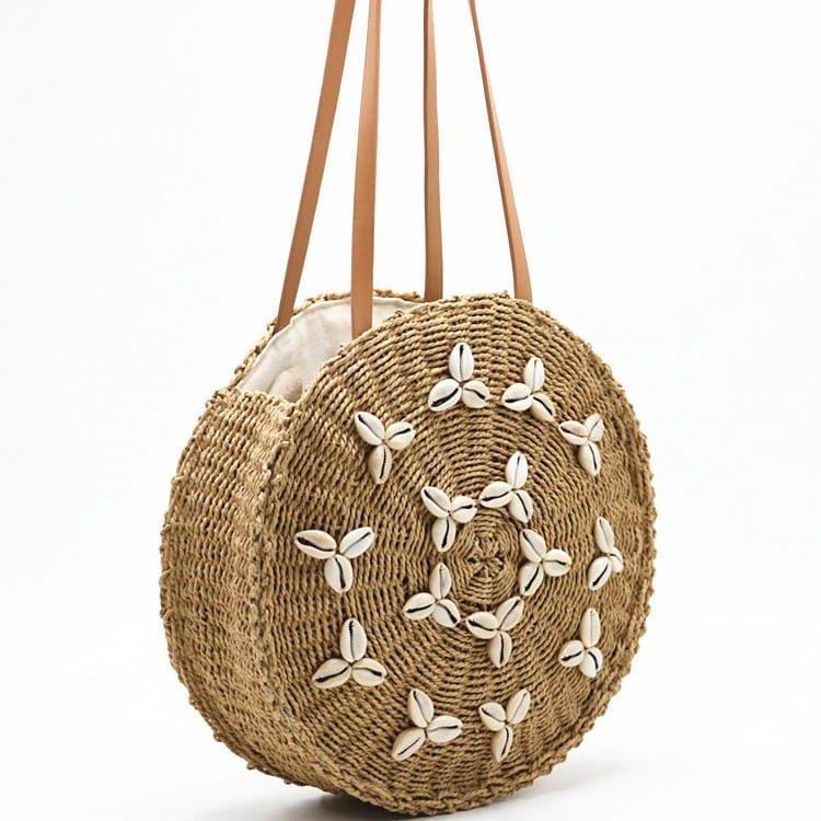 What woven bags beach good