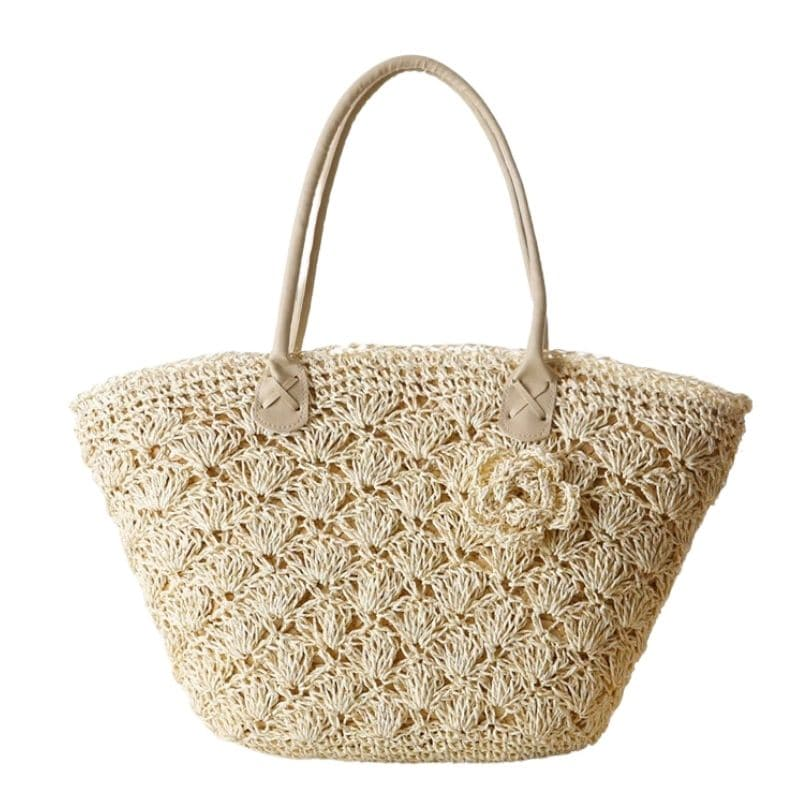 Chain wicker purse top