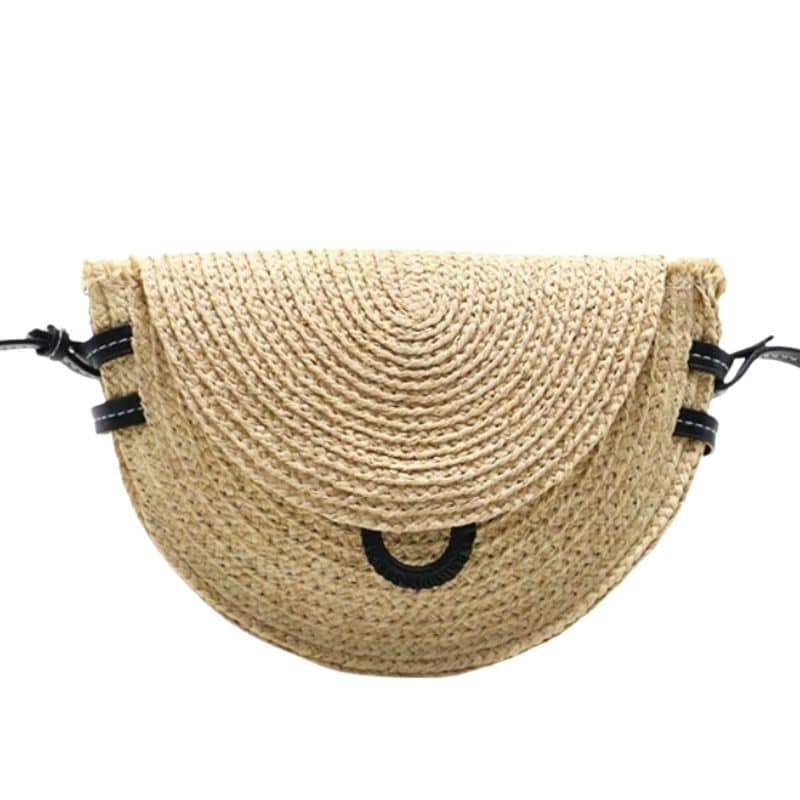 Which high-end summer straw purse 2021