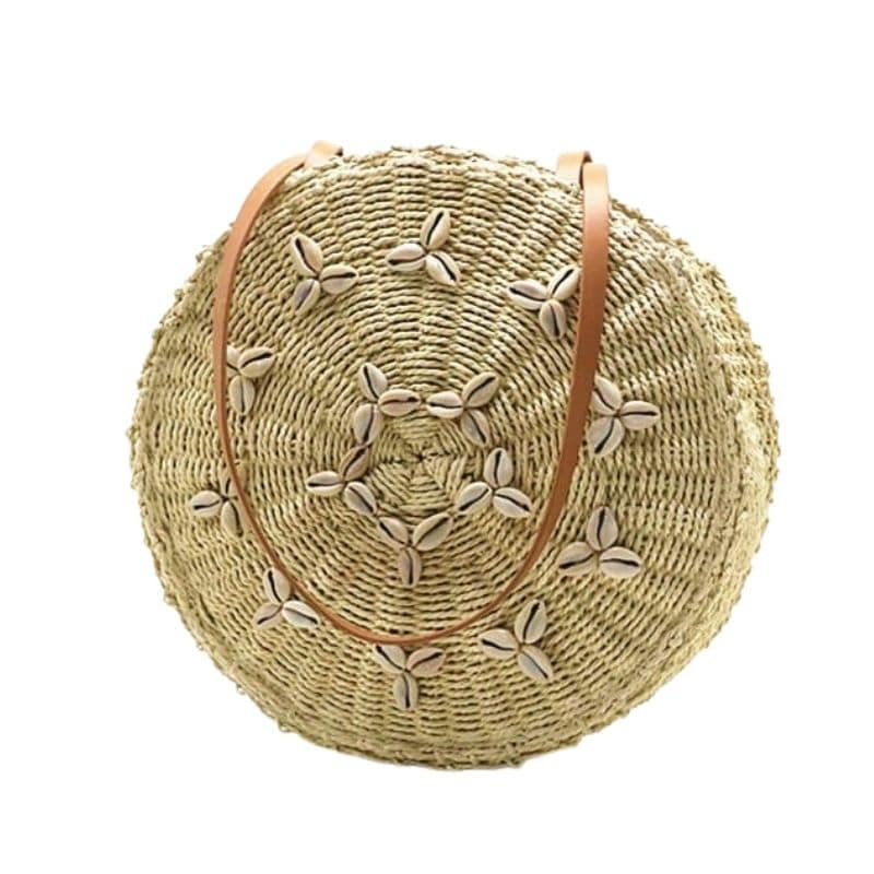 Which bahamian round straw bag better