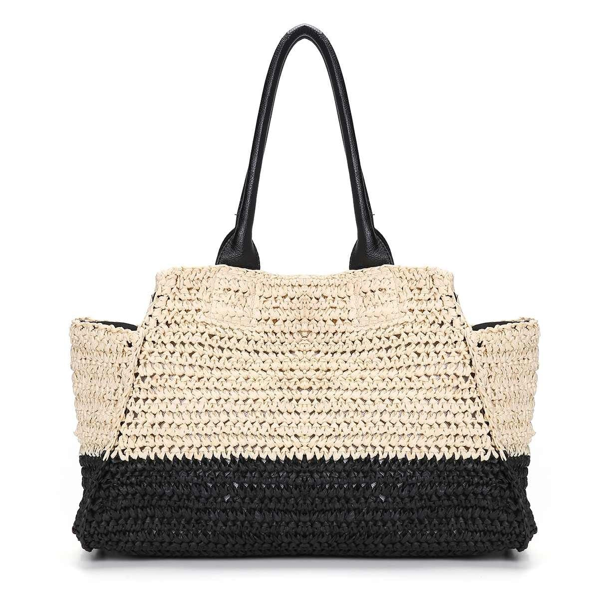 Woven handbag and clutches