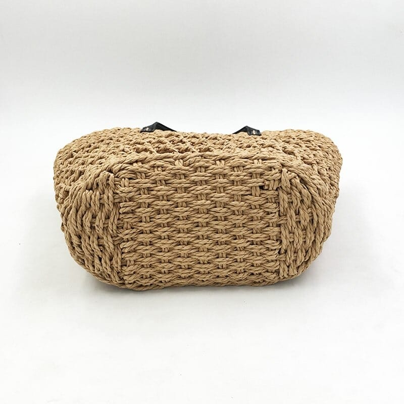 How much basket woven leather bag