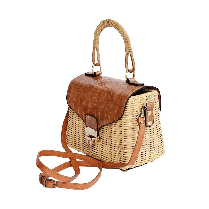 Straw totes made in bali