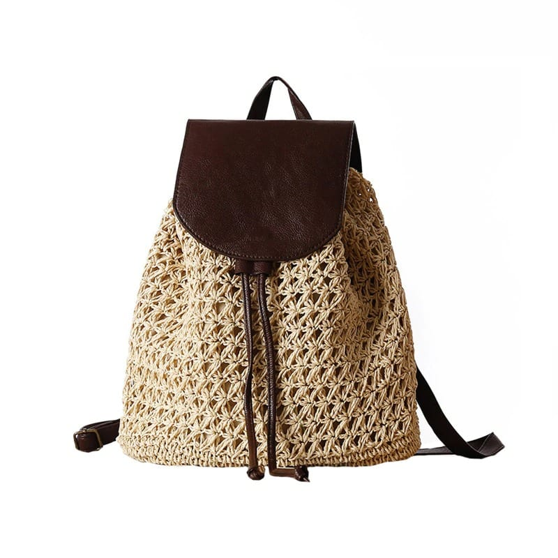 Why straw tote and clutches