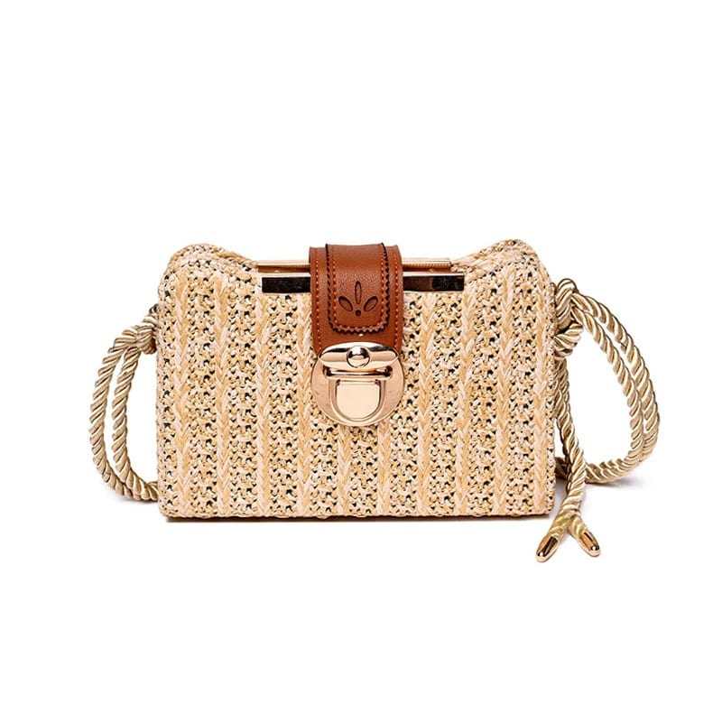 How evening vintage wicker purse value