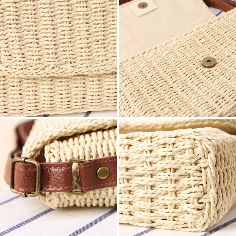 Why market rattan tote bag