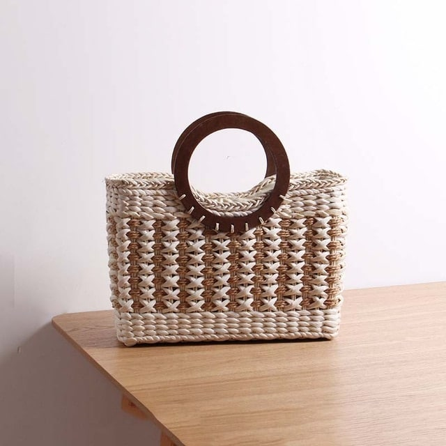 Checkout Chain Straw Handbags For Event Online Shopping