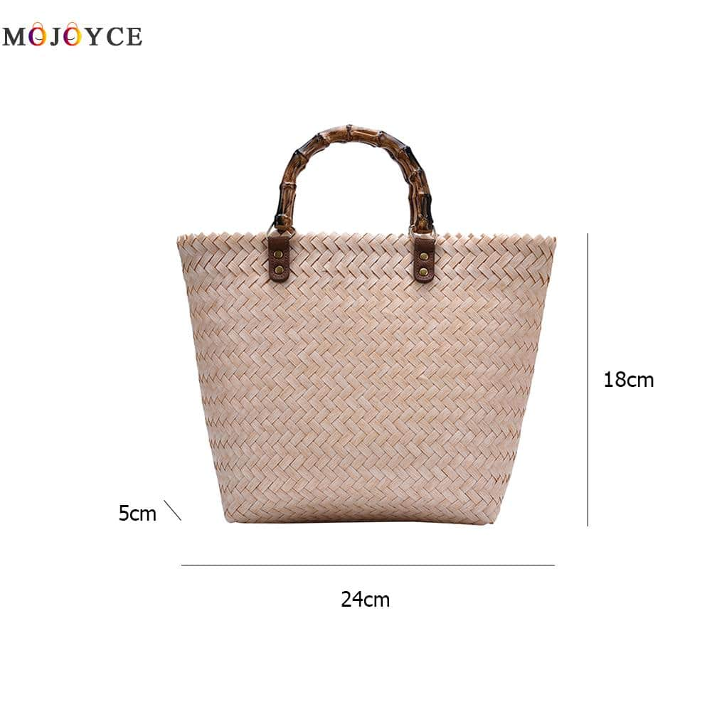 Beautiful Flower Bamboo Purse For Event