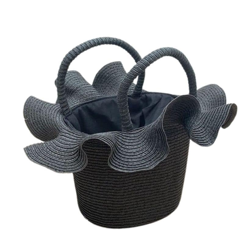 Beautiful Trendy Woven Beach Bags On Holiday Online Shopping