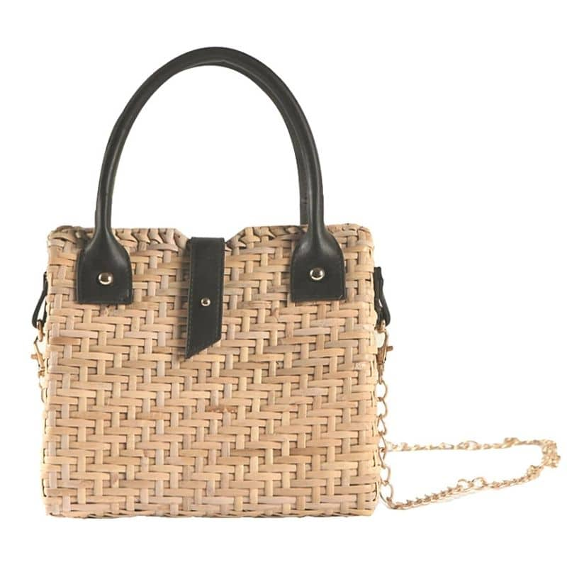 Checkout Casual Straw Tote To Buy